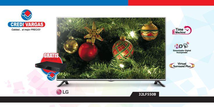 Pasa tardes inolvidables, llenas de diversión, cultura, deportes y emoción, en compañía de tu familia y amigos gracias a esta magnífica TV modelo 32LF550B que CREDIVARGAS y LG tienen para ti.