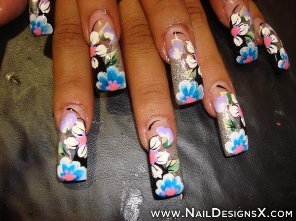 The 129 Best Acrylic Nail Designs Nail Art Images On Pinterest
