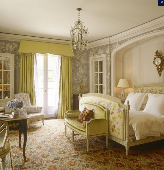 Happy Bedroom Colors Turf Carpet Bedroom Interior Design For Bedroom For Teenagers Blue Romantic Bedroom: I Love This Traditional Bedroom With A French Country Vibe