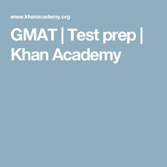GMAT | Test prep | Khan Academy