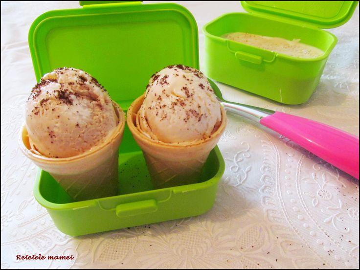 Înghețată cu lapte condensat