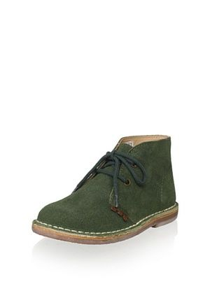 61% OFF W.A.G. Kid's Suede Boot (Green)