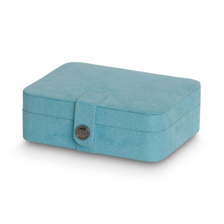 Mele Plush Fabric Travel Jewelry Box