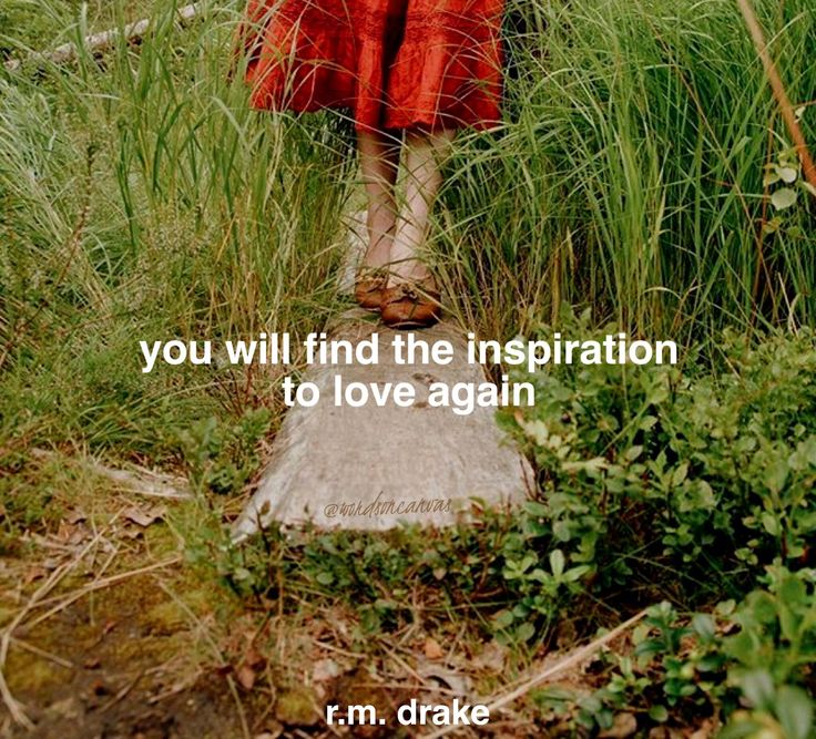 Poetry quote by R.M. Drake  (Photo: Ellen Tyn)