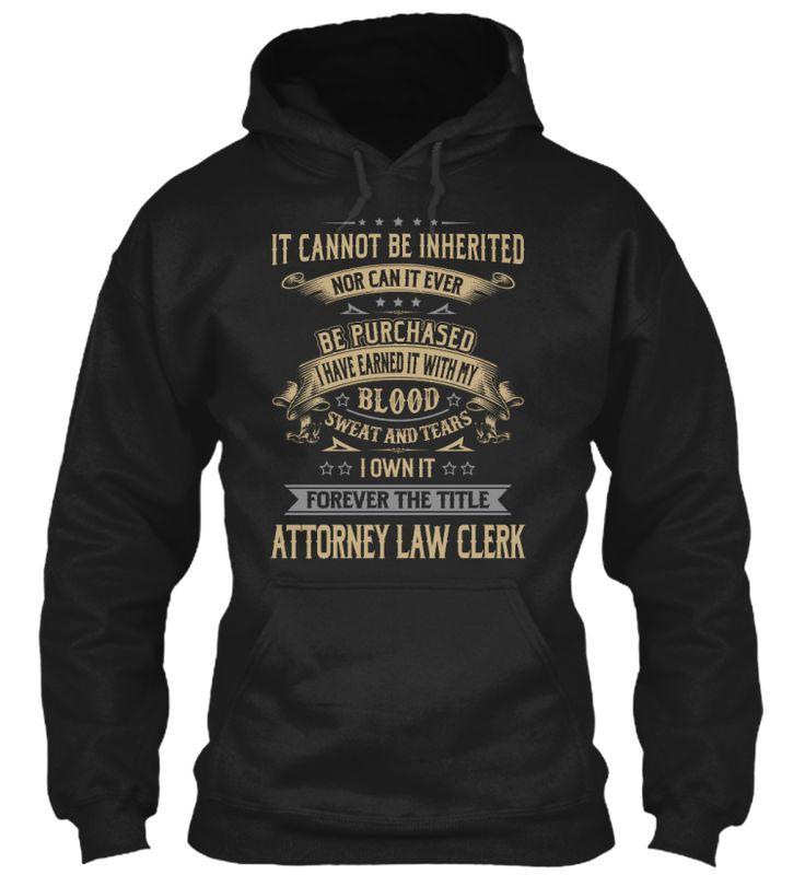 Attorney Law Clerk #AttorneyLawClerk