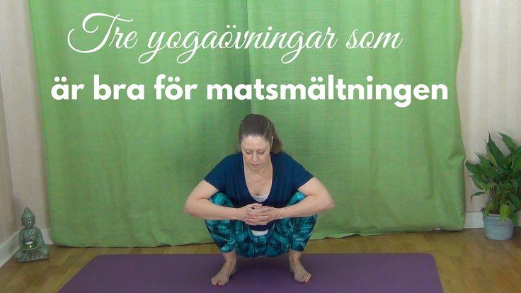 Yogatips för en bättre matsmältning - Mediyoga