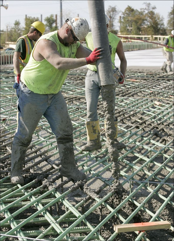 making #concrete