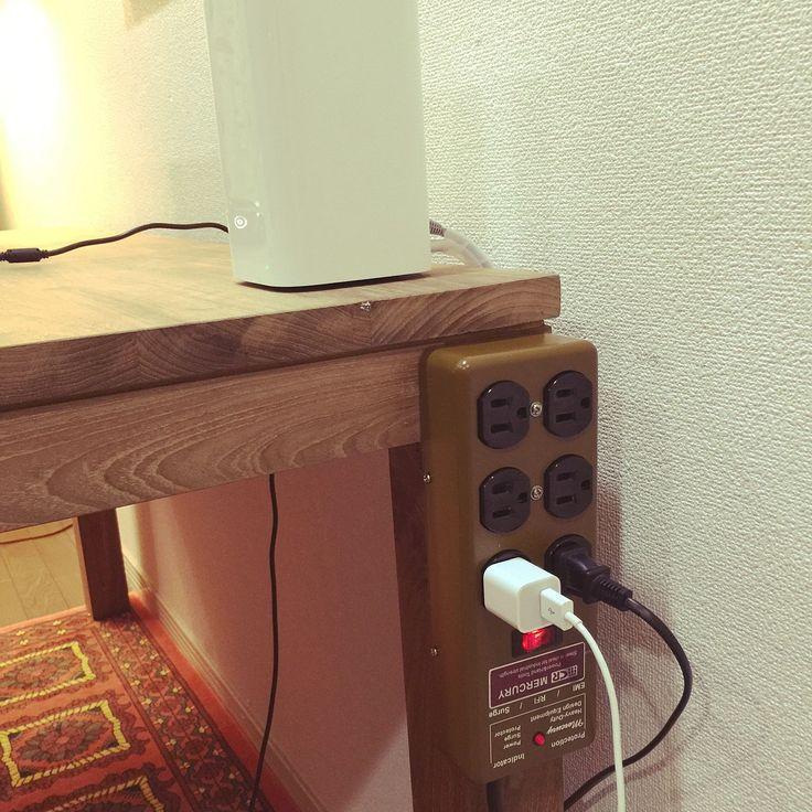 My Desk/アンティーク/アメリカ雑貨/パソコンデスク/アメリカン/賃貸...などのインテリア実例 - 2015-08-20 11:19:02 RoomClip (ルームクリップ)