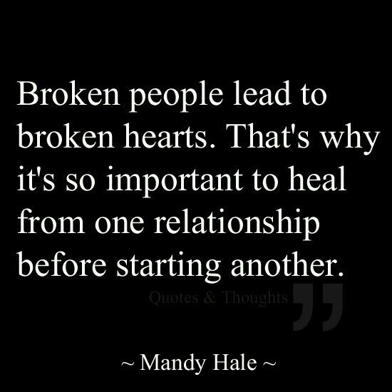 Relationship Quotes Broken Heart: Top 25+ Best Rebound Relationship Ideas On Pinterest
