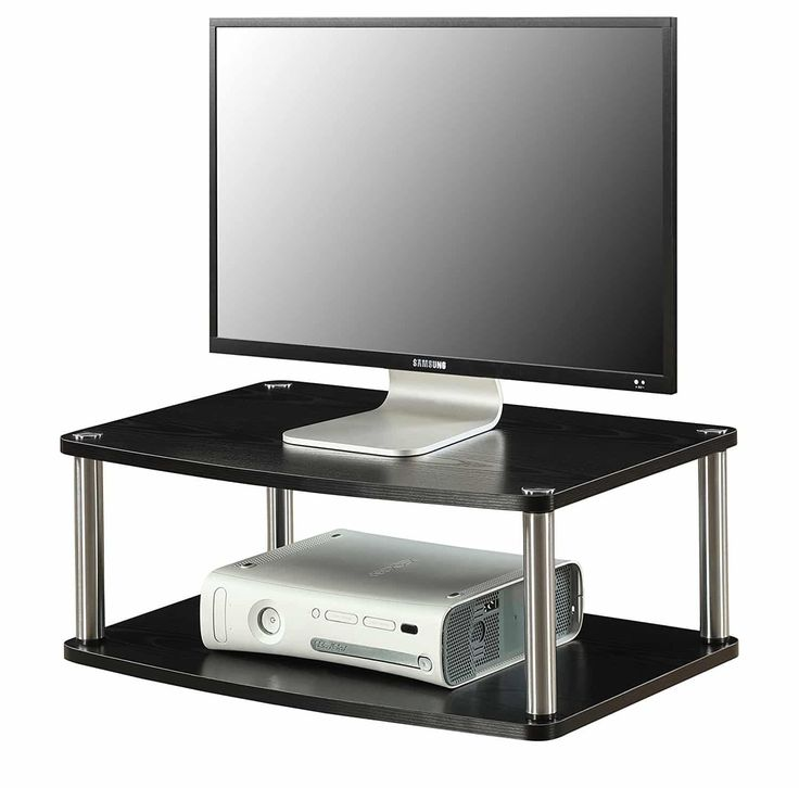 Great Convenience Concepts Designs Go Tier Swivel TV Stand