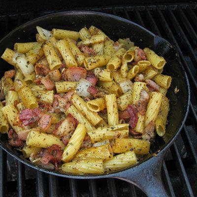 New York Jets Breakfast Pasta Recipe - Delish.com