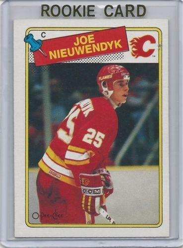 1988-89 Joe Nieuwendyk RC Calgary Flames OPC # 16 Mint!