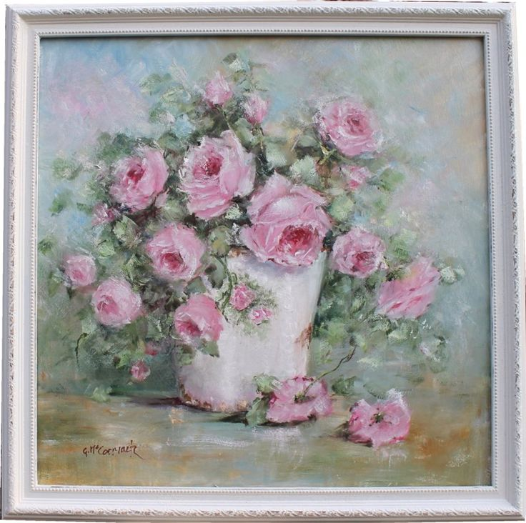 Container of Roses