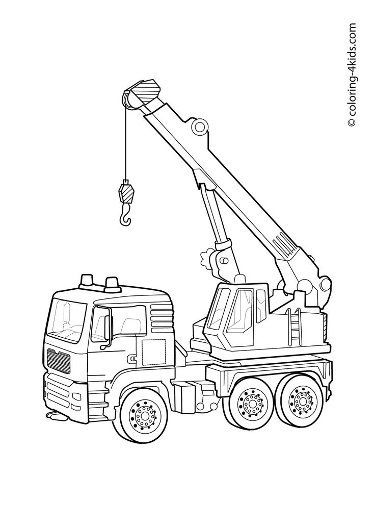 17 Best images about Transportation coloring pages on