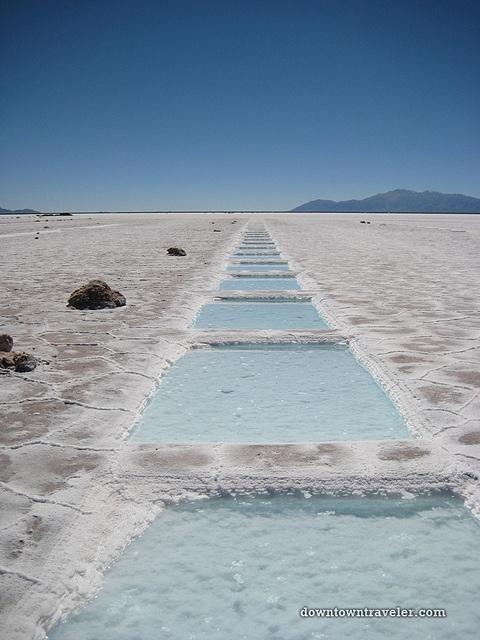 Salinas Grandes Salt Flats, Argentina.