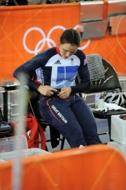 """For this trousers, it called """"hot pants"""". It helped London cycling team to win the section in Olympic 2012. This technology can keep the muscles warm and improve the performance. And this technology is created by Hong Kong people. After many testings, London cycling team chose to use this new technology in the Olympic 2012. ManLingLorraineT"""
