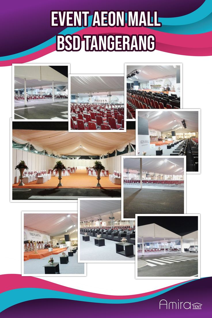 Sewa Tenda Event AEON MALL BSD Tangerang Tenda, Ulang