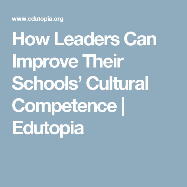 How Leaders Can Improve Their Schools' Cultural Competence | Edutopia