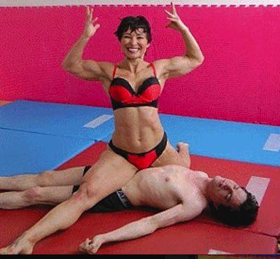 Sensual sex upside down