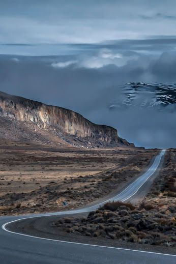 Camino a Bariloche, Argentina