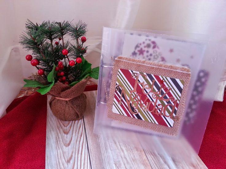Diario de Navidad lowcost #scrapbooking #scraptip #decemberdaily #diariodenavidad