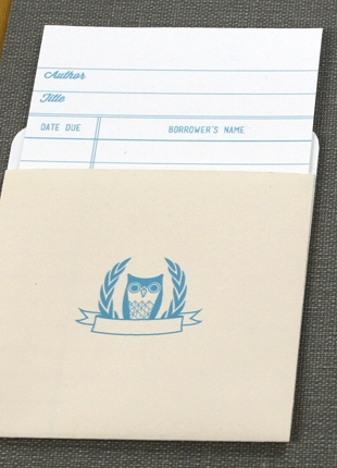 free printable library card template from Love vs. Design