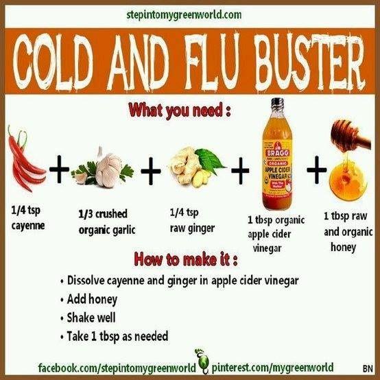 Natural Flu Remedies Apple Cider Vinegar