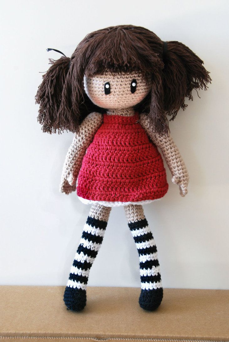 Crochet : Gorjuss amigurumi by Ahookamigurumi on deviantART