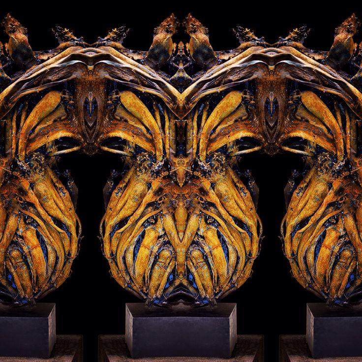 Fusion of sculptures by Janko de Beer