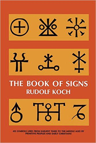 The Book Of Signs Dover Pictorial Archive Rudolf Koch 9780486201627 Amazon