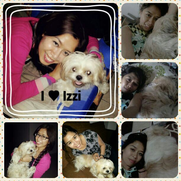 She's always make happy n smile. Mom Luv u my dear izzi :***