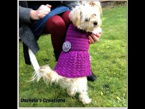 M s de 25 ideas nicas sobre ropa para perros de ganchillo - Terranova ropa ...