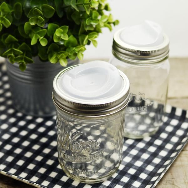 Nothing screams farmhouse like a mason jar! This lid will let you turn any mason jar into a glass travel mug. Its perfect for everything from coffee to cocktail
