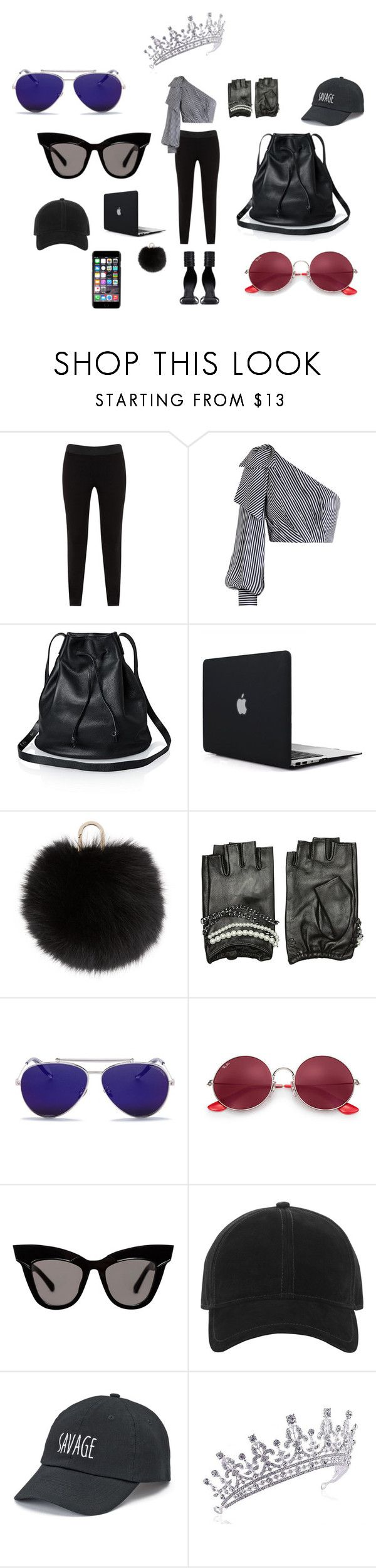 """Things that make a Supermodel S-U-P-E-R!"" by paris55587 ❤ liked on Polyvore featuring JunaRose, Zimmermann, Rick Owens, Yves Salomon, Karl Lagerfeld, Alexander McQueen, Ray-Ban, rag & bone, SO and Dolce&Gabbana"