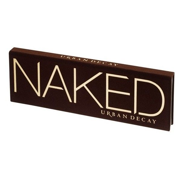 URBAN DECAY 'Naked' Palette ($59) ❤ liked on Polyvore featuring beauty products, makeup, eye makeup, eyeshadow, blending brush eyeshadow, palette eyeshadow, urban decay eyeshadow, blending brush and primer eyeshadow