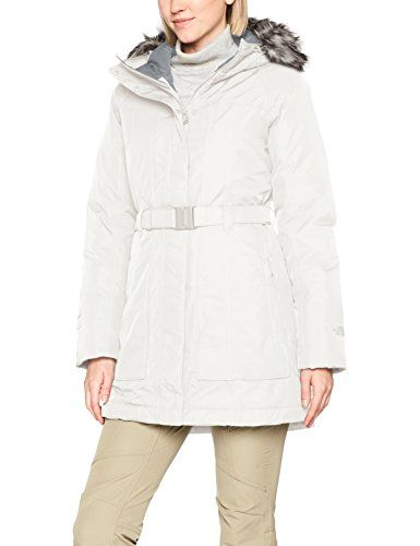 d59f686f48 The North Face Brooklyn 2 Parka Femme Vintage White FR : M (Taille  Fabricant :