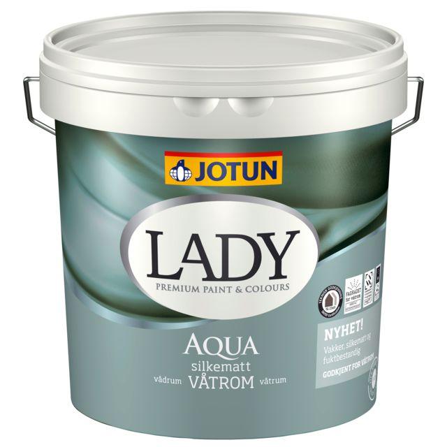 LADY Aqua maling – smukke, silkematte vådrumsvægge  Har du lyst til at forny dit badeværelse? så er det LADY Aqua maling du skal bruge Når du har malede vægge i dit badeværelse, kan du skifte farver uden alt for meget besvær. Det giver dig mulighed for at skifte udtrykket i rummet og følge farvetrends på en helt anden måde. Lad dig inspirere af billderne nedenfor og se, hvor fint det kan blive på dit badeværelse.  LADY Aqua er fugtbestandig og giver dig alligevel smukke, silkematte…