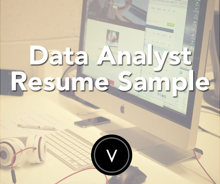Applying to be a data analyst? Check out our resume samples!
