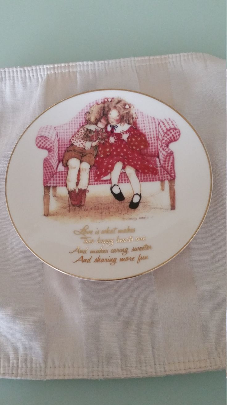 100 best holly hobbie images on pinterest holly hobbie hobbies vintage holly hobbie collector plate happy hearts by carolmouse58 on etsy reviewsmspy
