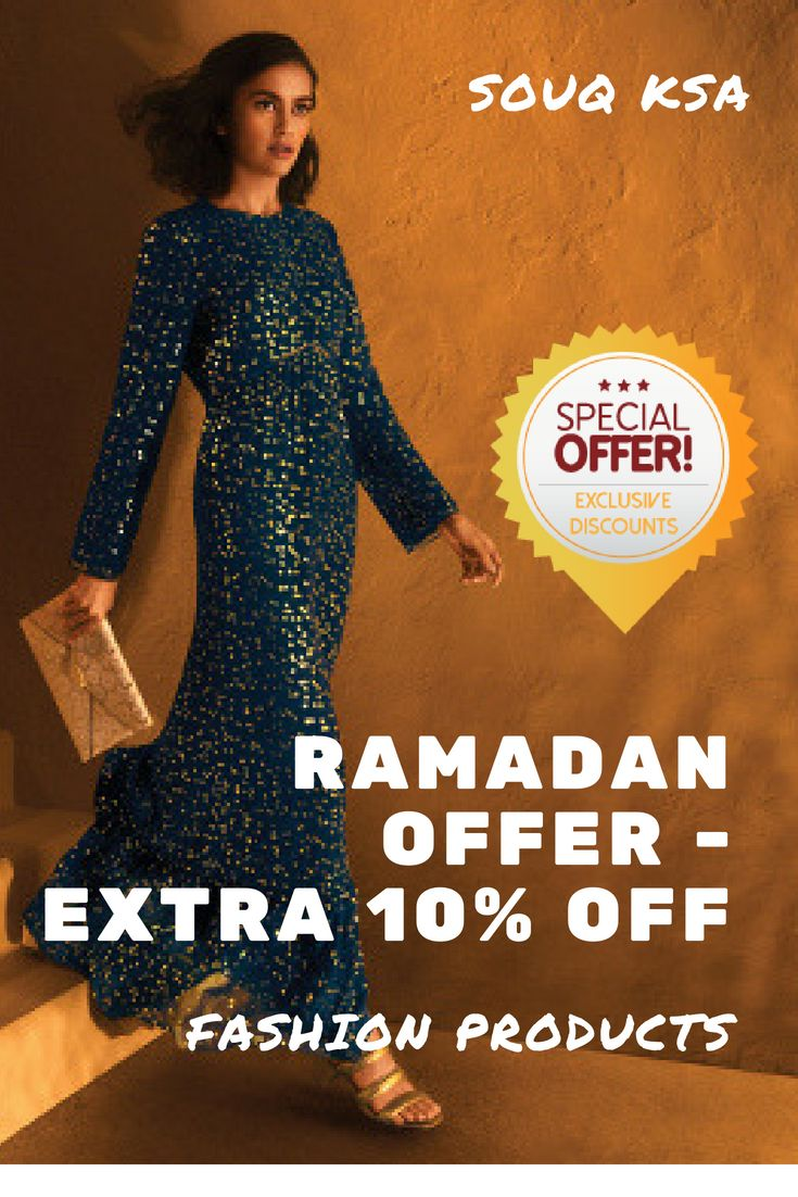 Souq#KSA #Ramadan Summer Offer - Get #Extra 10% OFF Fashion Products