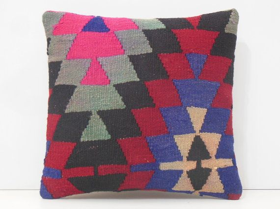 16x16 large sofa throws pillow DECOLIC von DECOLICKILIMPILLOWS