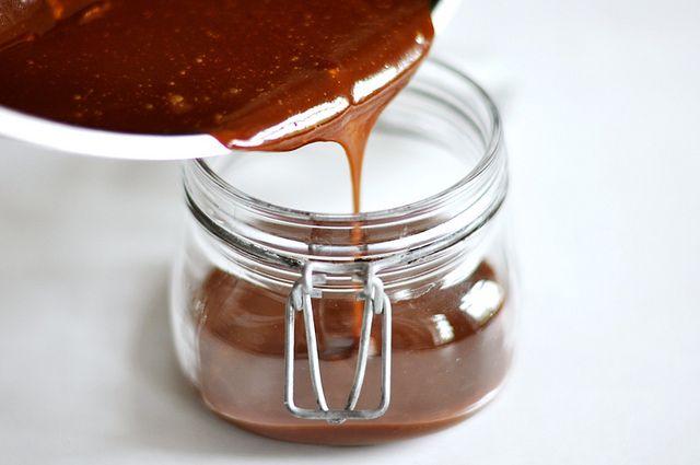 Zum Verschenken: Karamell-Meersalz-Aufstrich // Salted Caramel Spread // Berliner Küche