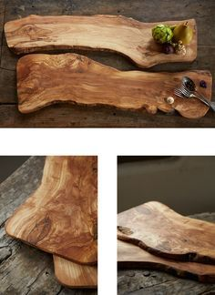 olive wooden serving tray