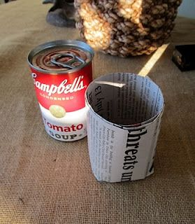 Recycled Newspaper Pot How To ~ This is brilliant!: Plants Can, Gardens Ideas, Recycled Newspaper, Crock Pots, Newspaper Pots, Seedl Pots, Cottages Hill, Seeds Start, Soups Cans