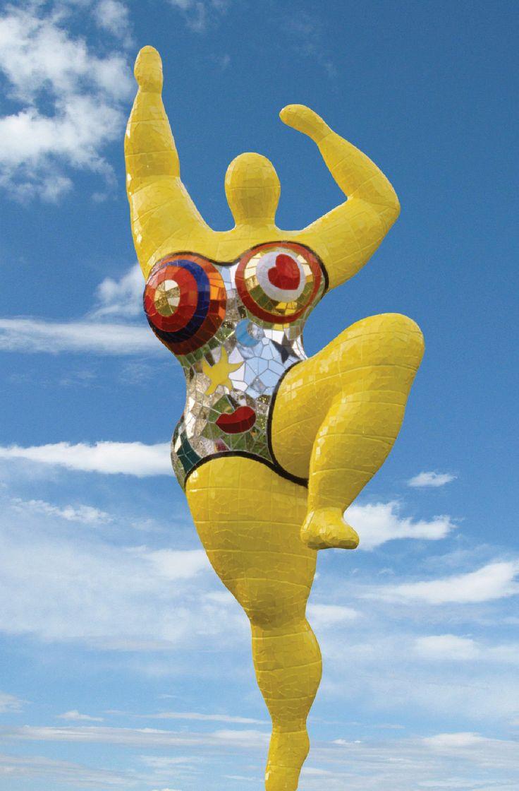 Niki de Saint Phalle - Sculpture - Yellow Nana