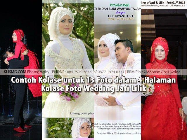 blog.klikmg.com - Rias Pengantin - Fotografi & Promosi Online : Contoh Kolase untuk 13 Foto dalam 4 Halaman Kolase...