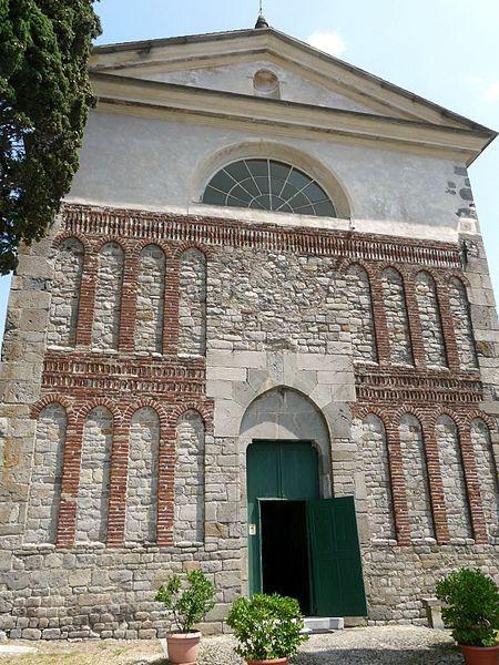 Abbazia di Sant'Andrea Epoca: longobarda Stile: Romanico con rifacimenti Luogo: Borzone, Genova