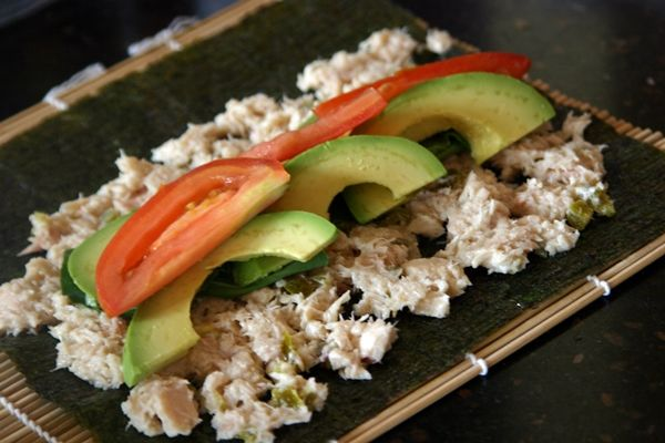 Recipe: Paleo Sushi Lunch Roll-Ups — Freckled Italian