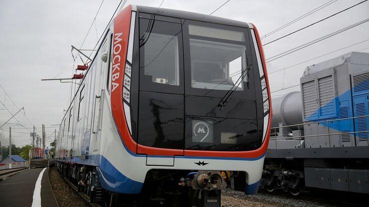 Метрополитен представил поезд «Москва» на VI Международном салоне техники и технологий «ЭКСПО 1520», который открылся в среду в Щербинке.