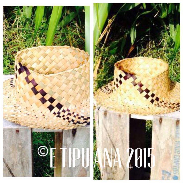 #etipuana_potae  Hand woven by julz and em @ E Tipu Ana out of New Zealand harakeke (flax)